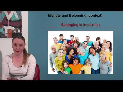 VCE English - Identity and Belonging (Context)