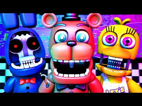 Five Nights at Freddy's Song (FNAF Withered SFM 4K)(TIFWhitney Remix) thumbnail