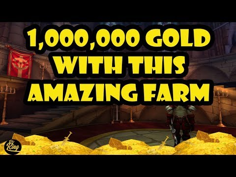 World Of Warcraft 1,000,000 GOLD VERY GOOD GOLD FARM