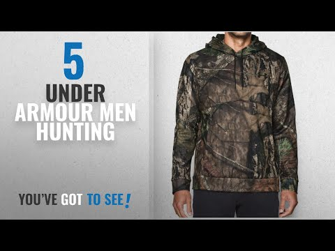 Top 10 Under Armour Men Hunting [2018]: Under Armour Men's Storm Icon Camo Hoodie, Mossy Oak Break