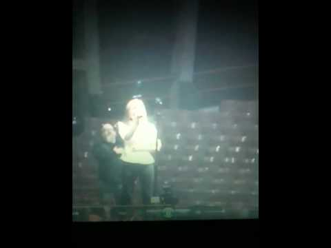 Dakota Hood sings the National Anthem