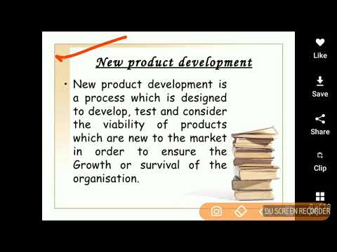 Stages of New Product Development in Hindi