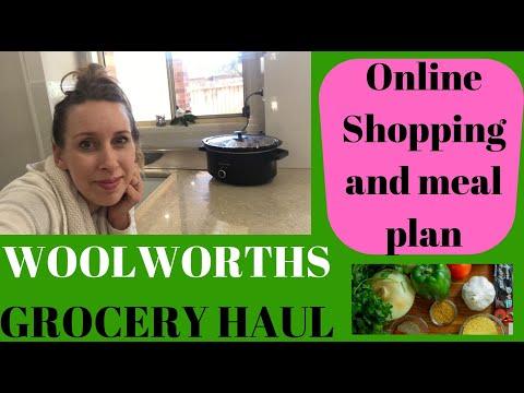 Woolworths Online Grocery Haul Australia 🇦🇺🍓🍏🍞