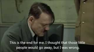 Hitler finds out about Gibraltar