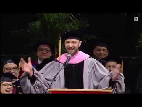 Justin Timberlake - Berklee College of Music Commencement Address 2019