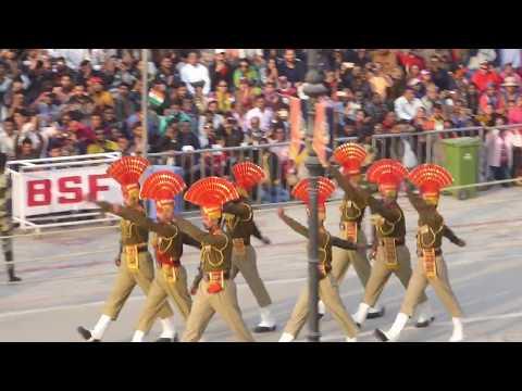 Inde 2018 : 2. Parade martiale indo-pakistanaise, Amritsar, Pendjab