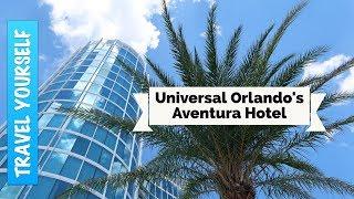Aventura Hotel and room tour at Universal Orlando Resort