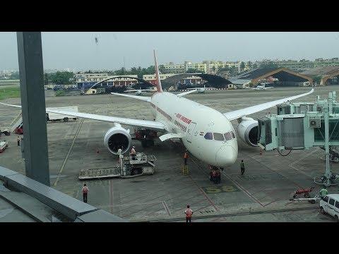 B787-8 Dreamliner : Air India AI 701 Takeoff from Kolkata International Airport