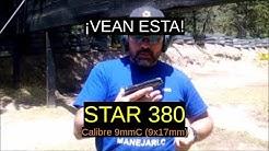 Star 380 -Calbre 9x17mm