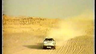 saeed al hajri pharaos rally porsche 959 استعراض سعيد الهاجري