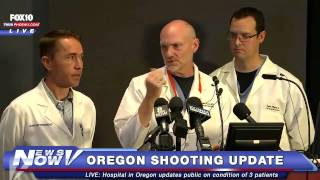 FNN: Hospital in Oregon Gives Update on Victims of Umpqua Comm. College Shooting