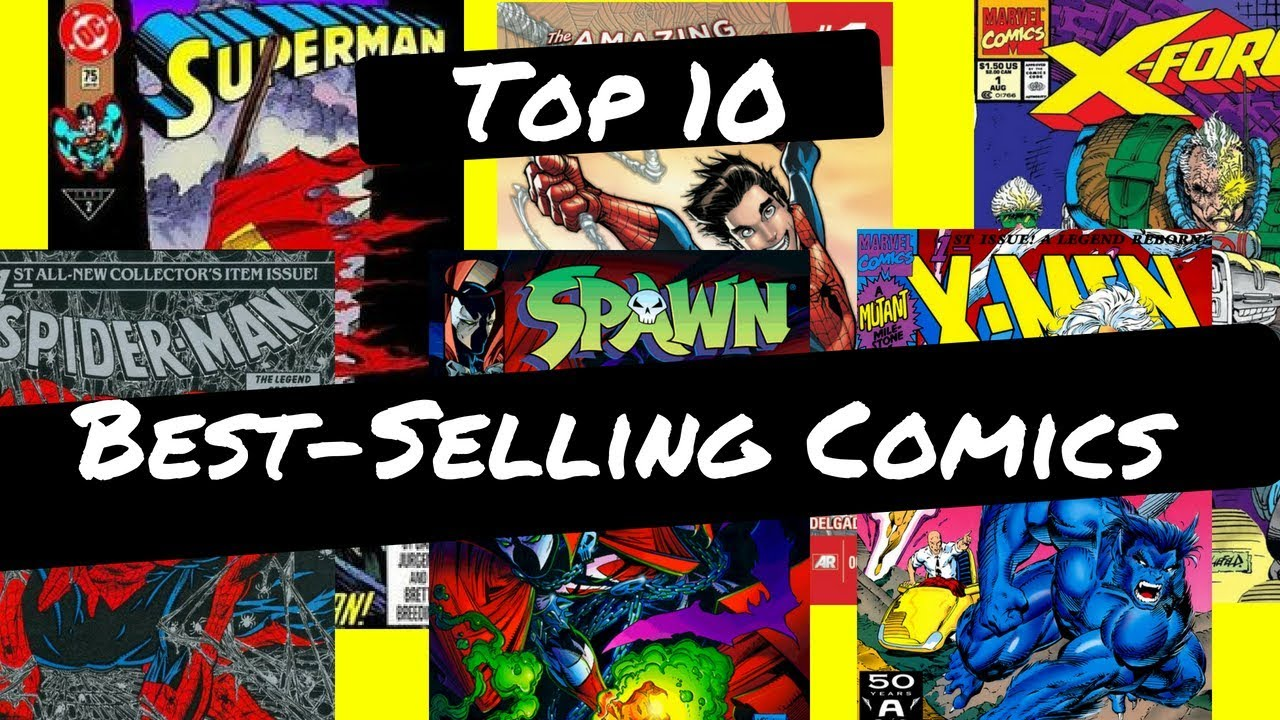 Top 10 Best Selling Comic Books of All Time