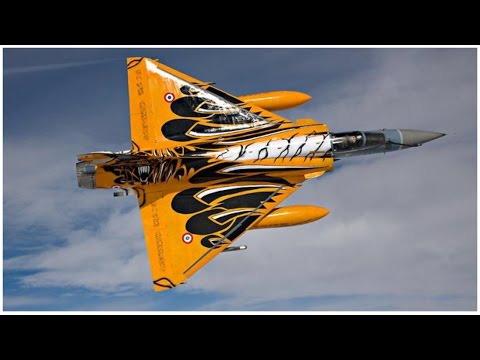 HSD Mirage2000 Tiger Meet EPO Turbine Jet by dji & hero4s