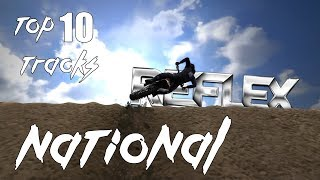 TOP 10 NATIONAL Custom Tracks of All Time [Mx vs Atv: REFLEX]