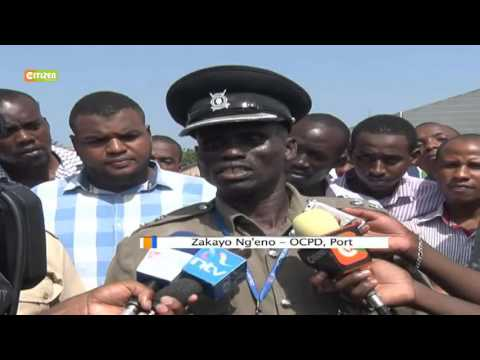 Anti Riot Police Seal Off Container Freight Station Linked To Joho's Family