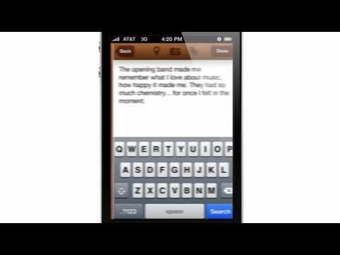 Evernote Journal (App Concept)