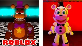 NEW FREDDY FAZBEAR'S PIZZERIA SIMULATOR IN ROBLOX! (FNAF RP FFPS)