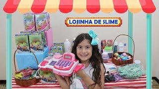 LOJINHA DE SLIME DA MARIA CLARA 2 ♥ Pretend to play with Slime Shop