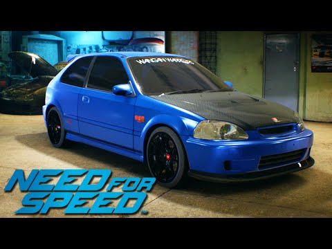 need for speed 2015 honda civic com novo visual 04. Black Bedroom Furniture Sets. Home Design Ideas