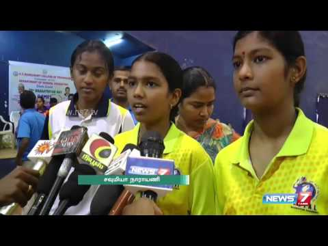 State level badminton championship in Thiruchengode : Special report | News7 Tamil
