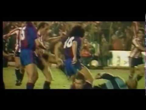 Maradona Barcelona Best Goals Skills [and fights]