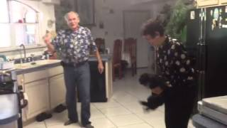Grandma Lupe and Papa Johnny Jamming Thumbnail