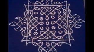 13 Pulli Kolam | How to draw Kolam | Pulli Vacha Kolam | Sikku Kolam Big