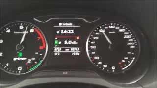 Audi A3 Sportback 1.4 TFSI g-tron S tronic | acceleration test