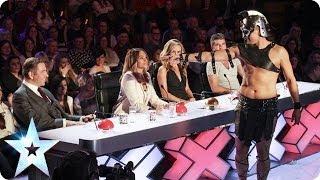 Repeat youtube video Great Scott's gladiator dance skills   Britain's Got Talent 2014