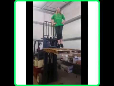 Forklift Safety Fail: Do It with Flair