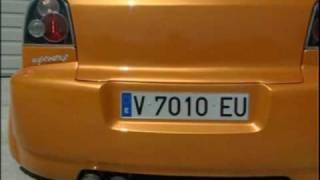 VW Golf III By Egocentric tuning Versión Francia