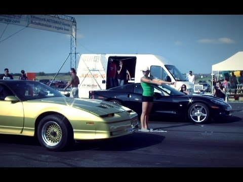 chevrolet corvette c6 zr1 vs pontiac trans am nitro youtube. Black Bedroom Furniture Sets. Home Design Ideas