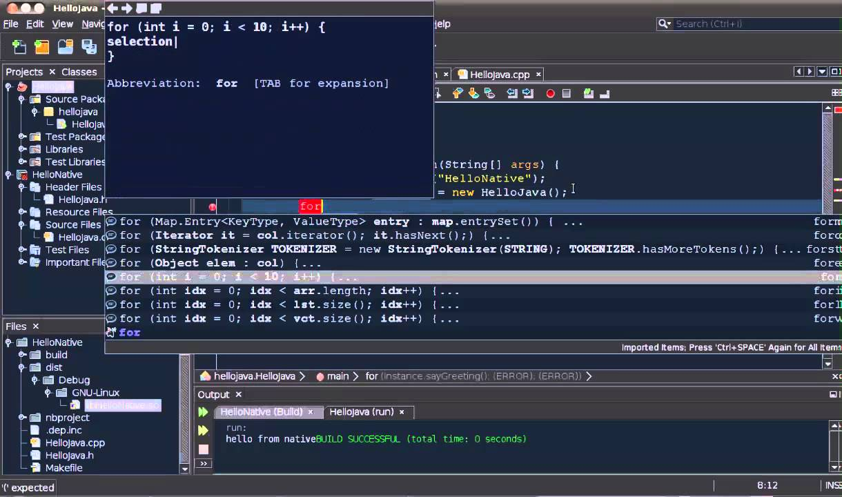 New In NetBeans IDE 8.1: Mixed Java And C/C++ Debugging Integrated Into NetBeans IDE