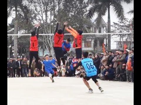 Chung Kết Bóng chuyền THCS: THCS Vân Du vs THCS Thành Minh   Set 2,3 😂 Hãy xem và cảm nhận