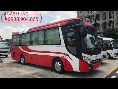 Xe khách 29 chỗ Thaco Trường Hải TB85 Đỏ Trắng  Xe khách 29 chỗ Liên Hệ 0938904865