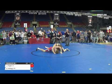 Cadet GR 182 Round of 32 - Jonathon Fagen (ID) vs. Dawson Kellogg (MN)