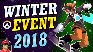 Overwatch 2018 WINTER EVENT (Start Date, Leaked Skins, Game Modes, & MORE!)