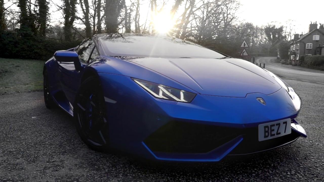 Lamborghini Huracan Spyder Blue Nethus Youtube