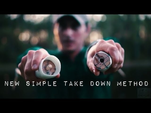 NEW Quick Simple method Take Down Bow & GIVEAWAY!