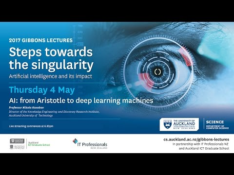 Gibbons Lectures 2017: AI: from Aristotle to deep learning machines
