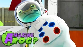 QUEST TO GET TO THE MOON - Amazing Frog - Part 96 | Pungence