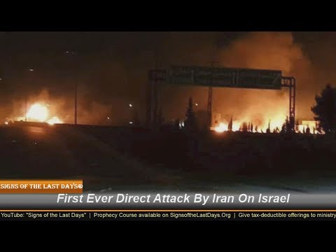 LIVE- First Ever Direct Attack By Iran On Israel!