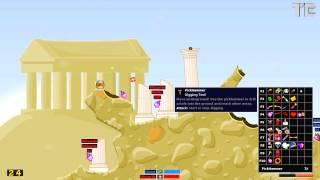 Hedgewars Gameplay (PC HD)