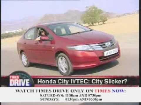 Times Drive  The New Honda City