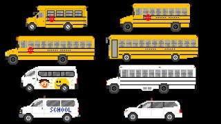School Buses - Street Vehicles - The Kids