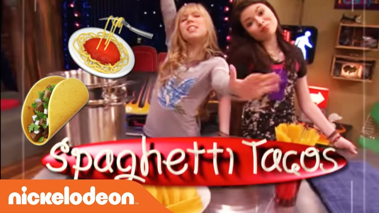 Image result for spaghetti taco icarly