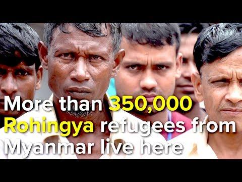 Bangladesh: UN Refugee Chief, Filippo Grandi, visits Rohingya camp