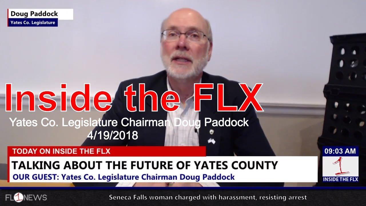 Yates Co. Legislature Chairman Doug Paddock .::. Inside the FLX 4/19/18