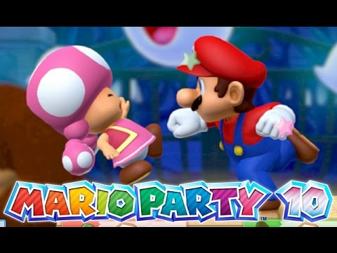 Mario Party 10 - I Punched Toadette!!! [Whimsical Waters ...