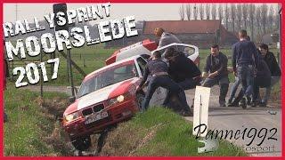 Rallysprint Moorslede 2017 - Crash, Show and Mistakes